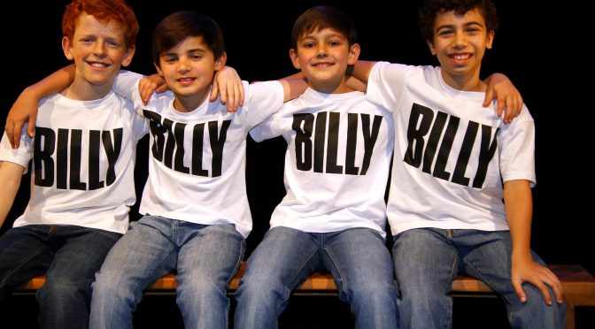 THE FOUR BILLYS HAVE ARRIVED