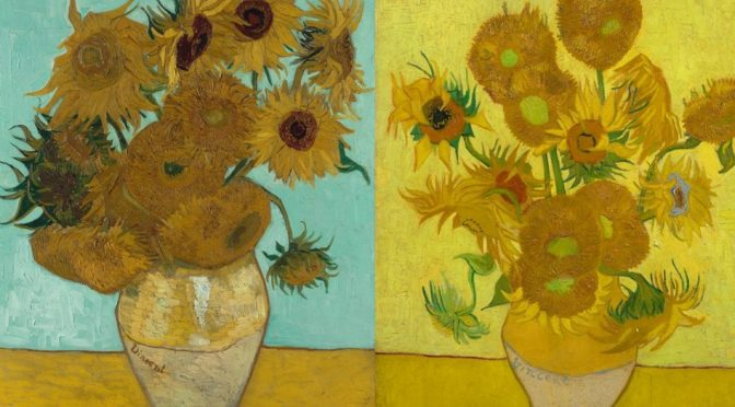 THE SUNFLOWERS ARE MINE : THE STORY OF VAN GOGH'S MASTERPIECE