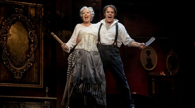 SWEENEY TODD A MUSICAL THRILLER @ ICC THEATRE