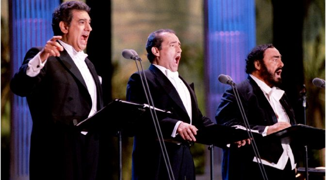THE IMPOSSIBLE DREAM : THE THREE TENORS IN CONCERT