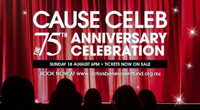 CAUSE CELEB : 75TH ANNIVERSARY CELEBRATION