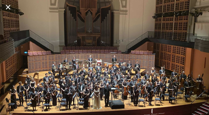 THE ORCHESTRA PROJECT @ VERBRUGGEN HALL SYDNEY CONSERVATORIUM OF MUSIC