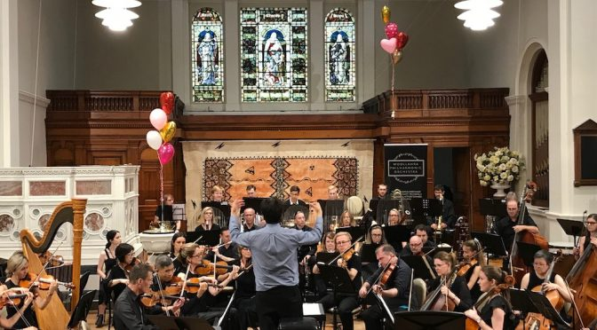 WOOLLAHRA PHILHARMONIC ORCHESTRA GIVES 'ALL FOR LOVE'