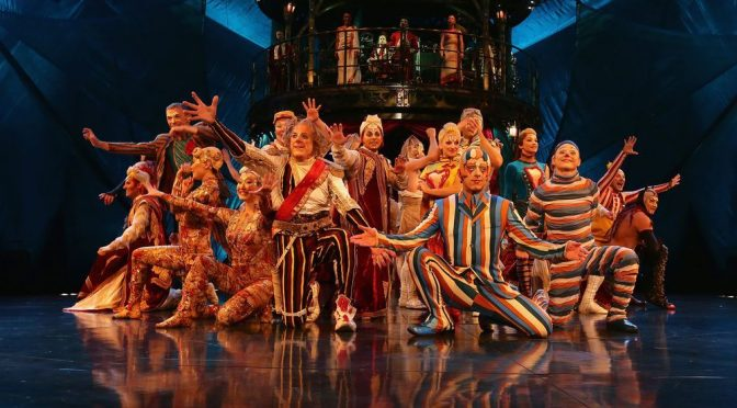 CIRQUE DU SOLEIL GIVES EVERYONE A FREE 60 MINUTE YOUTUBE SPECIAL