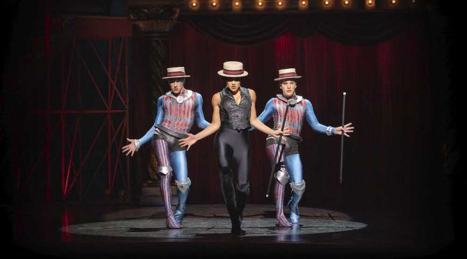 PIPPIN LIGHTS UP THE STAGE AT THE LYRIC