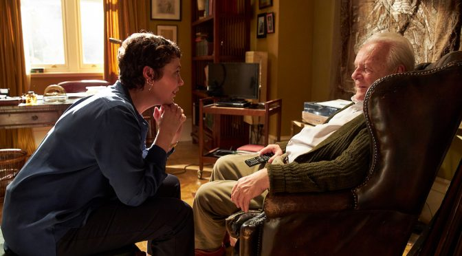 THE FATHER : STARRING ANTHONY HOPKINS : FIVE DOUBLE PASSES