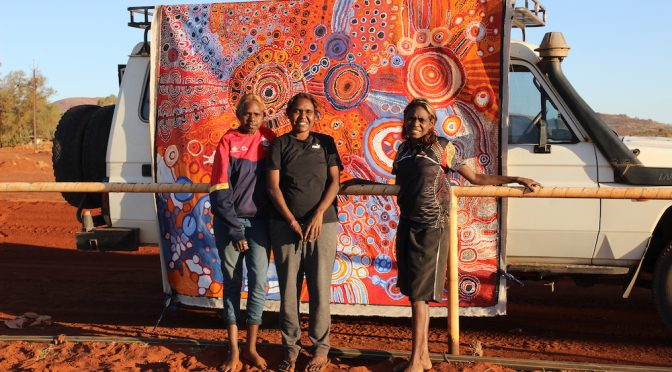 NATIONAL INDIGENOUS ART FAIR COMING TO THE ROCKS IN JULY