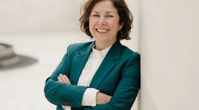 SUZANNE COTTER IS THE NEW DIRECTOR  OF THE MUSEUM OF CONTEMPORARY ART