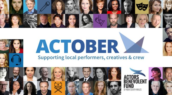 ACTOBER : HELPING THE INDUSTRY THROUGH THE CURRENT CRISIS